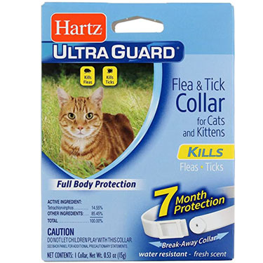 HARTZ ULTRAGUARD FLEA & TICK COLLAR CATS