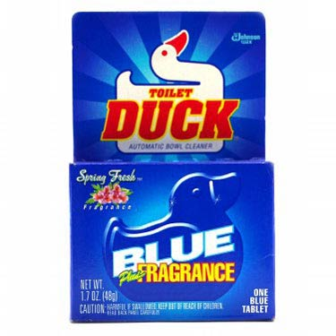 TOILET DUCK BLUE FRAGANCE