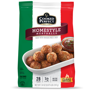 COOKED PERFECT HOMESTYLE MEATBALLS