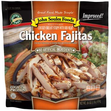 JOHN SOULES FOODS CHICKEN FAJITAS