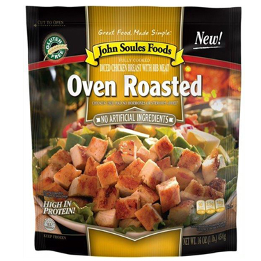 JOHN SOULES FOODS OVEN ROASTED CHICKEN