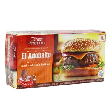 EL ADOBAITO PATTIES DE CARNE DE RES